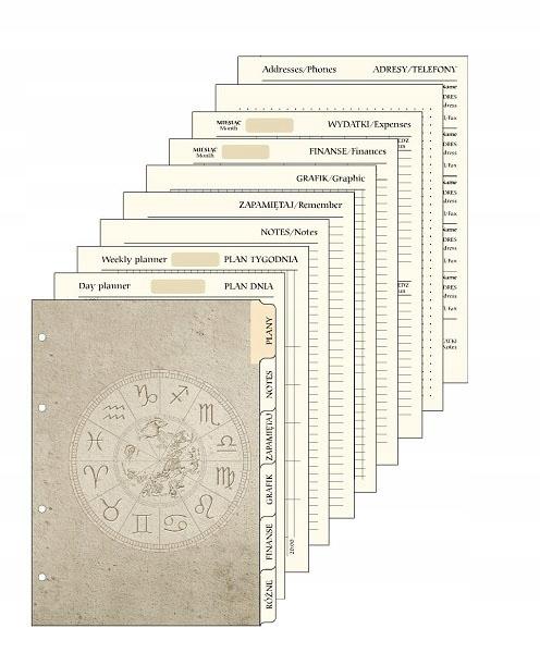 Wkład Do Organizera A5 (Kalendarz + Planer)