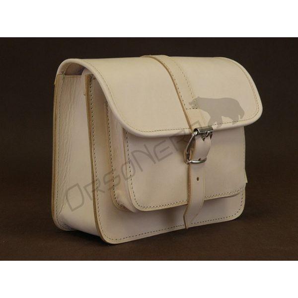 biała torba listonoszka