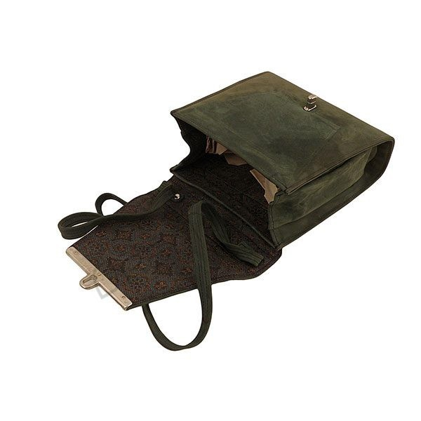 Mała torebka listonoszka skórzana