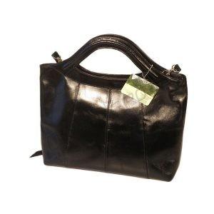 Skórzana torebka z rączkami
