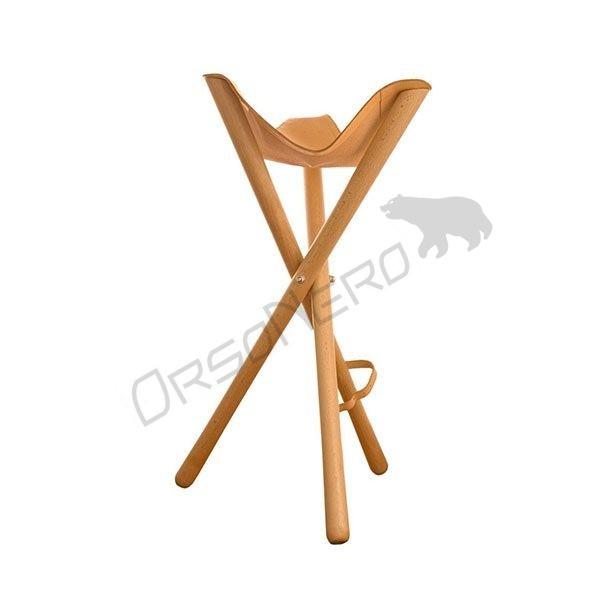 stołek myśliwski z krótką nogą