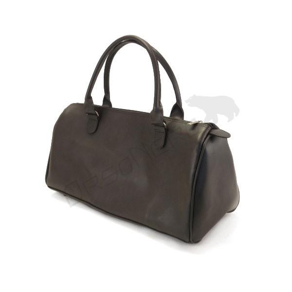 pojemna torba do ręki czarna