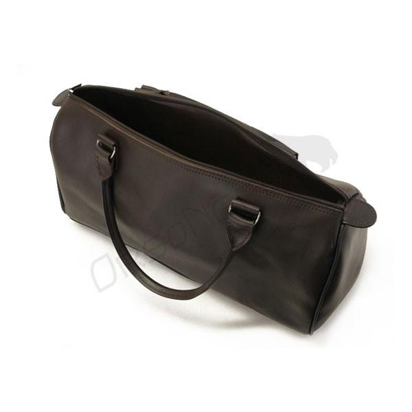 Pojemna torba do ręki brązowa